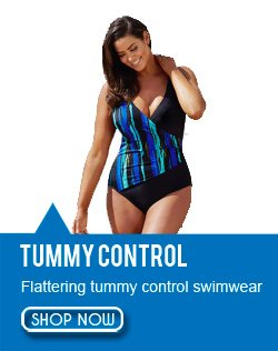 Tummy Control Plus Size Swimwear