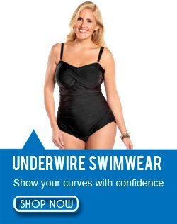 Underwire Plus Size Swimwear