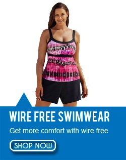Wire Free Plus Size Swimwear