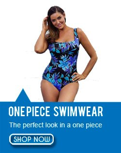 One Piece Plus Size Swimwear