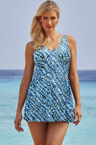 Ivy V-Neck Swimdress