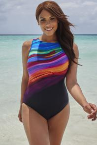 Longitude Desert Oasis High Neck Swimsuit