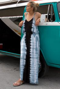 Tie Dye Maxi Dress Swimsuit Cover Up