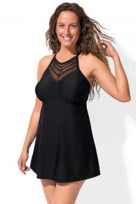 Charlatan Black Swimdress