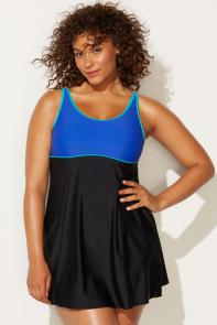 Mazarine Colorblock Swimdress