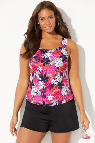 Classic Tankini with Loose Short